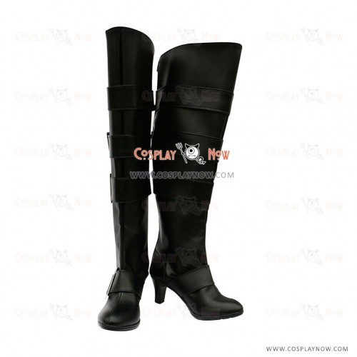 Black Butler Cosplay Shoes Under Taker Boots