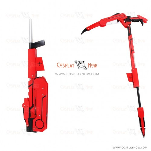 RWBY Cosplay Ruby Rose Props with Swords