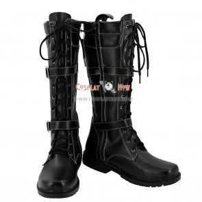 Tokyo Ghoul Cosplay Shoes Ayato Kirishima Black Boots