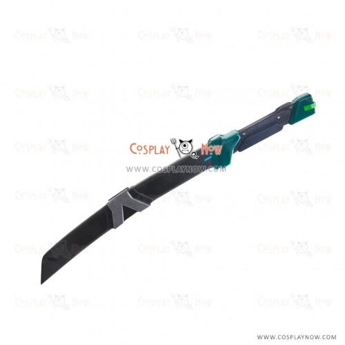 Overwatch Cosplay Weapons Genji Sentai Short Sword with Sheath Cosplay Props