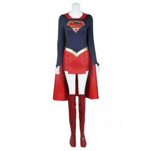Superman Supergirl Kara Zor El Cosplay Costume