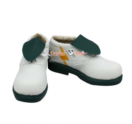 Inazuma Eleven Cosplay Kirino Ranmaru Green Copslay Shoes