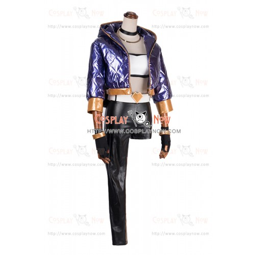 LOL League of Legends Cosplay The Rogue Assassin Akali Costume