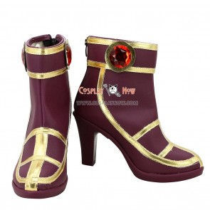 League of Legends Deceiver LeBlanc Cosplay Shoes