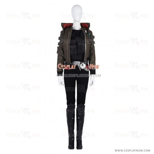 Cyberpunk 2077 Cosplay Female Protagonist Costumes