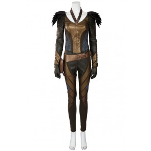 Green Arrow Hawkgirl Cosplay Costume