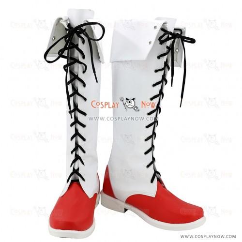 Touhou Project Cosplay Shoes Hakurei Reimu Boots