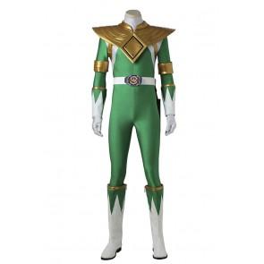 Power Rangers Cosplay Dragon Ranger Green Power Ranger Costume
