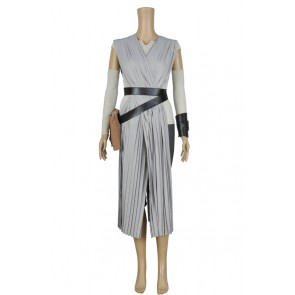 Star Wars The Force Awakens Rey Cosplay Costume New