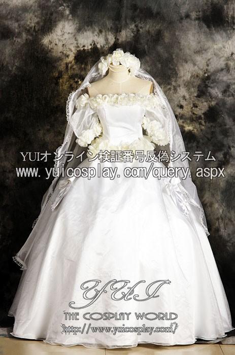 Sailor Moon Cosplay Usagi Tsukino Costume Wedding Dress