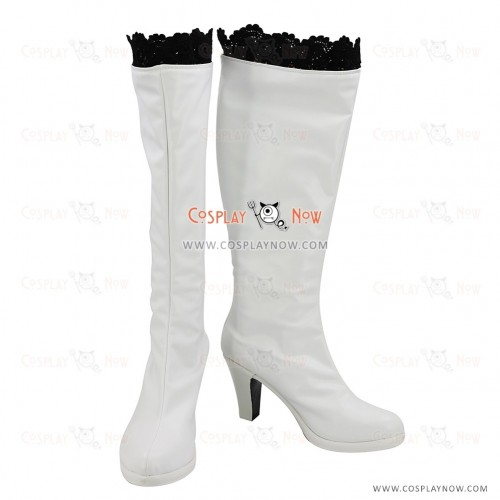 RWBY Season 2 Cosplay Shoes Weiss Schnee Boots