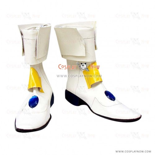 Magical Girl Lyrical Nanoha Cosplay Shoes Takamachi Boots