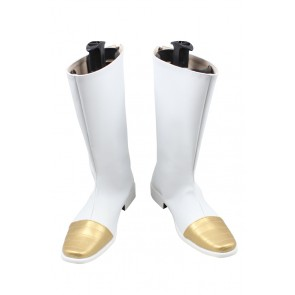 Dragon Ball Cosplay Shoes Vegeta Boots White