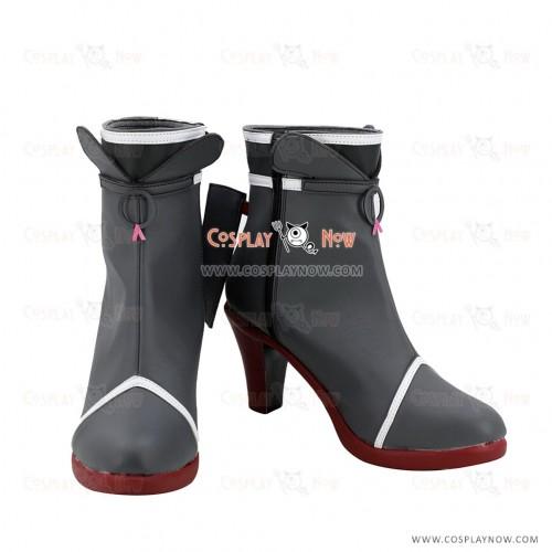 Kantai Collection Cosplay Shoes Samidare Black Boots