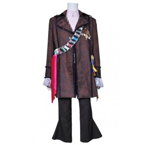 Alice In Wonderland Johnny Depp Mad Hatter Cosplay Costume