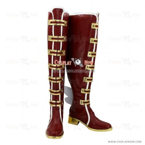 LOVE LIVE! Awakening of Valentine Cosplay Shoes Nozomi Tojo Boots