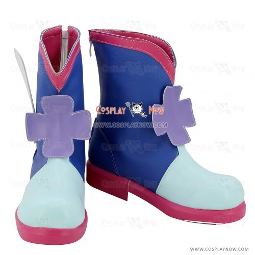 Duel Monsters Cosplay Shoes Blue Angel Boots