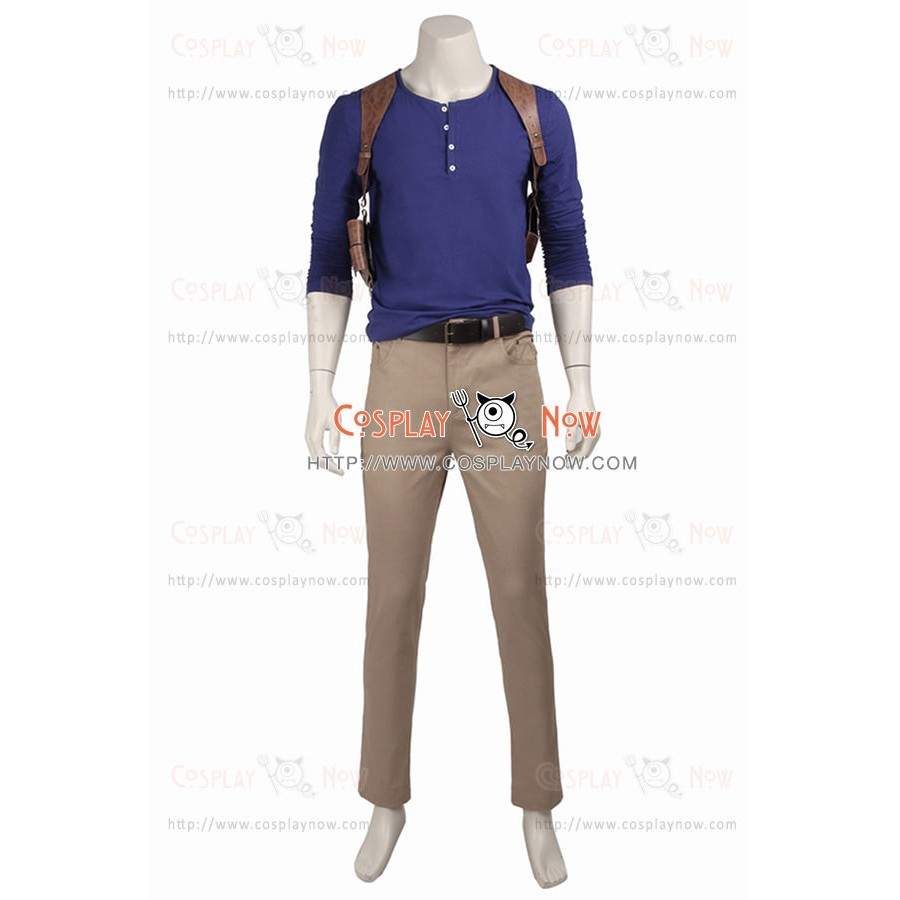 Uncharted 4 A Thiefs End Nathan Drake Cosplay Costume