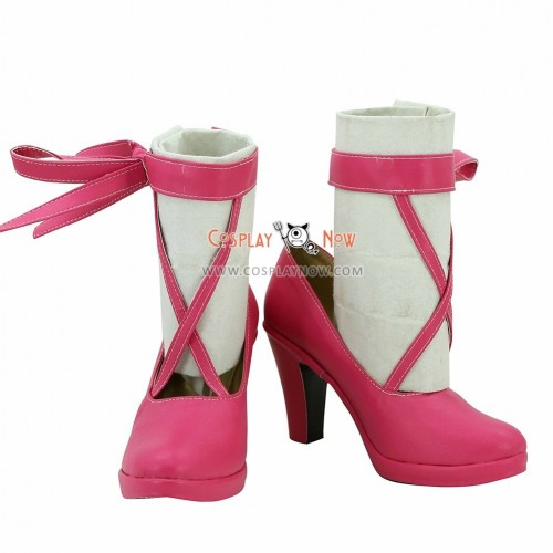 Vocaloid 7th Dragon 2020-2 Hatsune Miku Pink Cosplay Shoes