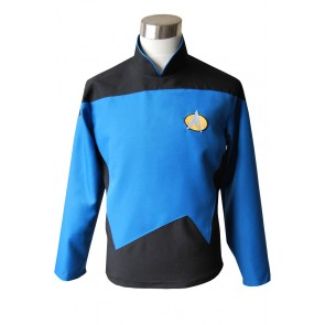 Star Trek TNG The Next Generation Teal Shirt