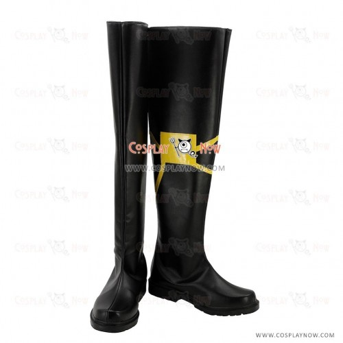 Fate Apocrypha Cosplay Shoes Lancer of Black Vlad III Black Boots