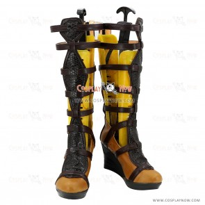 Wonder Woman Cosplay Shoes Diana Prince Boots