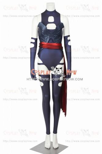 Psylocke Costume For X Men Cosplay Uniform