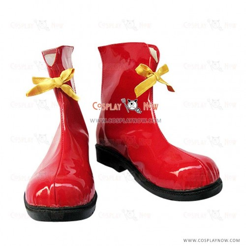 Vocaloid 2 Cosplay Shoes Miku Ronald McDonald Boots