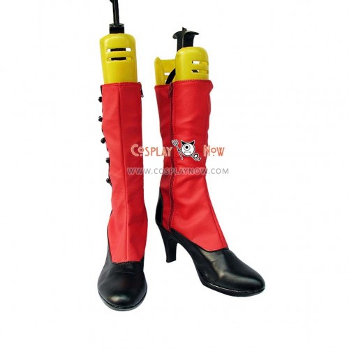 Black Butler Cosplay Shoes Madam Red Angelina Dulles Boots