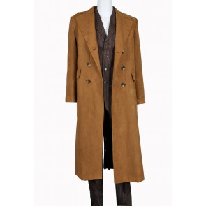 10th Tenth David Tennant From Doctor Who Cosplay Costume Suede Version Full Set
