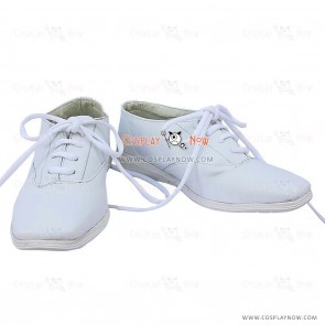 Black Butler Viscount White Cosplay Flat Shoes
