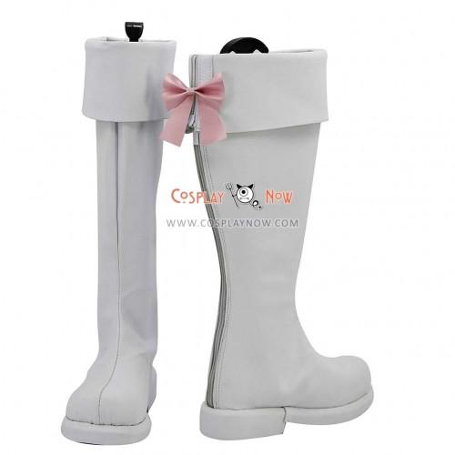 AKB0048 Cosplay Shoes Center Nova Chieri Sono White Boots