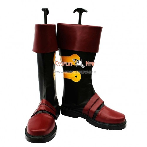 Gurren Lagann Cosplay Shoes Simon Boots