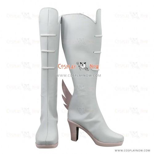 KILL la KILL Cosplay Shoes Nonon Jakuzure White Boots