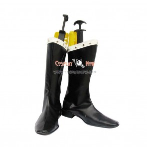 Castlevania Cosplay Shoes Mathias Cronqvist Black Boots