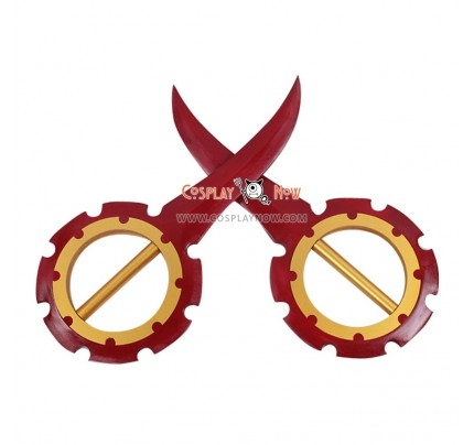 Final Fantasy Rikku Double Flywheel PVC Cosplay Props