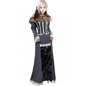 Lulu Costume For Final Fantasy X 10 Cosplay Dress