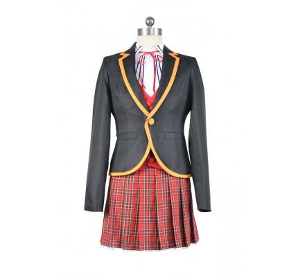 RWBY Cosplay Ruby Rose Beacon School Costume