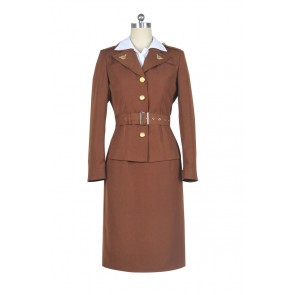 Peggy Carter From Captain America Cosplay Costume