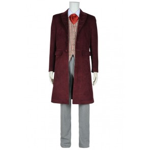 Doctor Who Tom Baker Fourth Dr Cosplay Costume