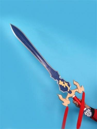 Shin Sangokumusou Dynasty Warriors Cao Pi Sword Cosplay Props