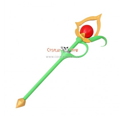 Tales Of The Tempest Rubia Natick Wand PVC Cosplay Props