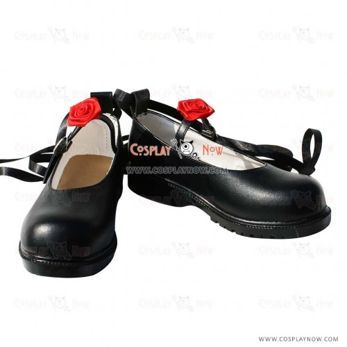 Touhou Project Cosplay Shoes Reimu Hakurei Boots