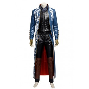 Vergil Costume For Devil May Cry 3 Dantes Awakening Cosplay