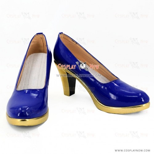 The Idolmaster Cosplay Sagisawa Fumika Shoes