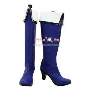 Kyoukai no Kanata Cosplay Shoes Mitsuki Nase Blue Boots