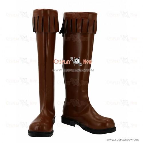 Akame Ga Kill! Cosplay Shoes Leone Boots