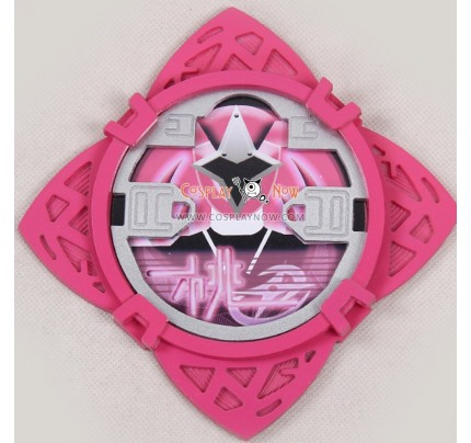 Pink Ninja Cosplay Shuriken Weapon Power Rangers Ninja Steel Cosplay Props