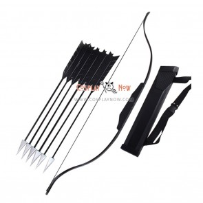 The Hunger Games Katniss Everdeen Bow Arrows and Arrow Holder Cosplay Props