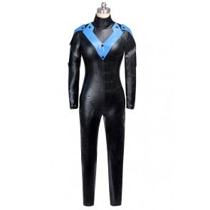 Nightwing Costume Batman Arkham City Cosplay Female Version